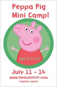 Summer Camps -- Peppa Pig