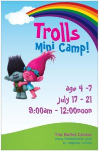 Summer Camp! Every kid loves Trolls!
