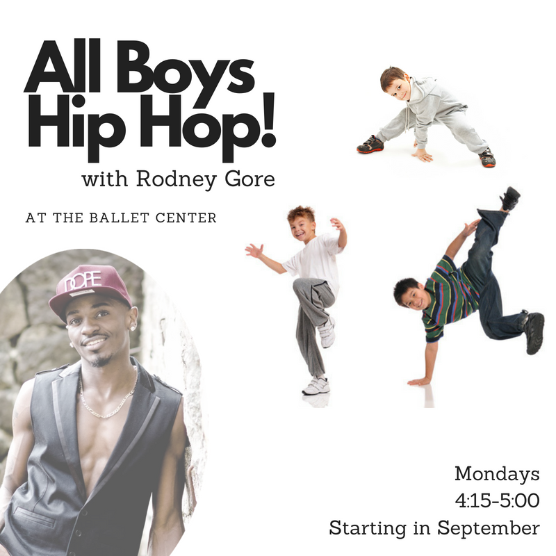 All Boys Hip Hop at The Ballet Center