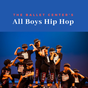 All Boys Dance Classes at The Ballet Center!